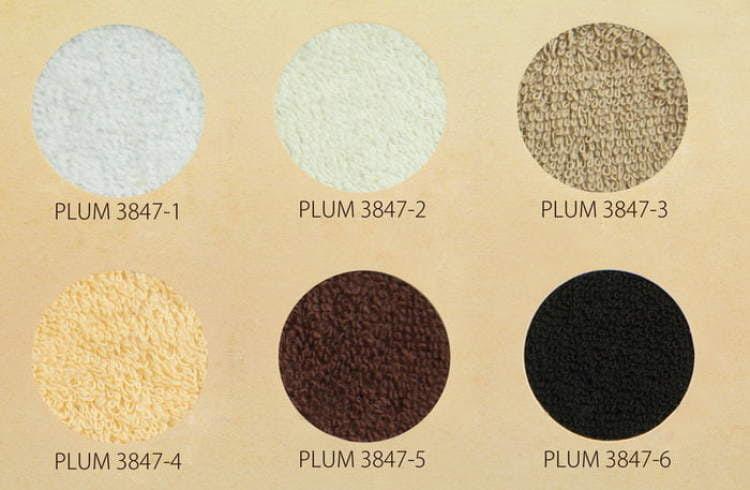 Pokrowiec frotte na taboret kosmetyczny - paleta barw