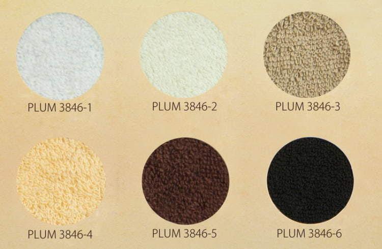 Pokrowiec frotte na fotel kosmetyczny - paleta barw