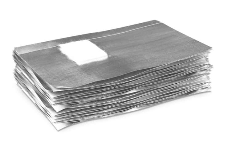 Foil Nail Wraps - 100 szt. wysoka jakosć