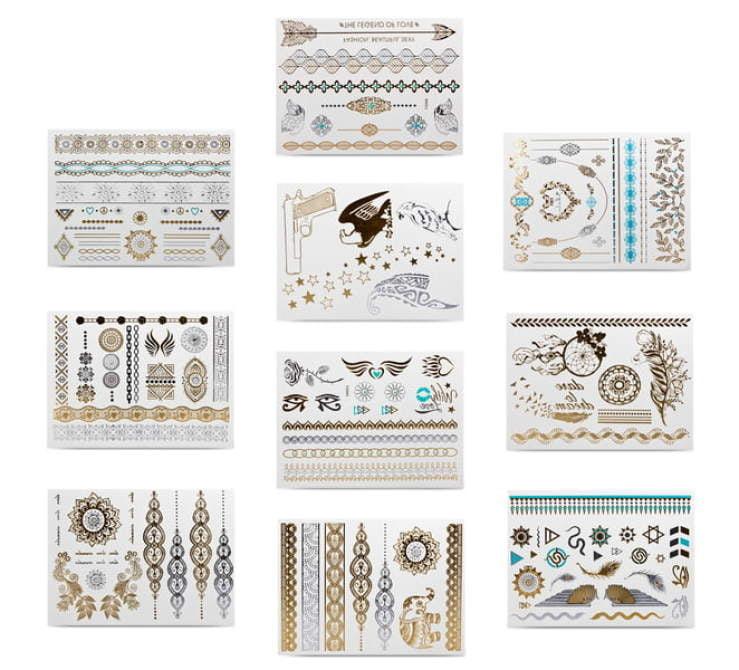 tatuaże różne wzory razem