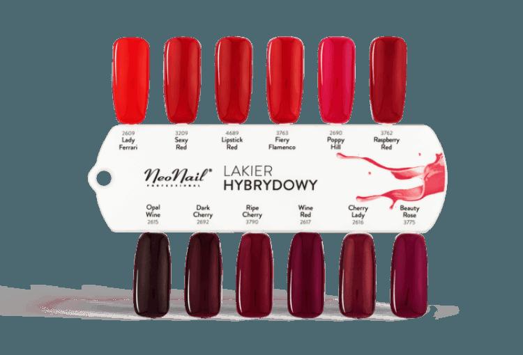 Lakier Hybrydowy UV 6 ml - Sexy Red