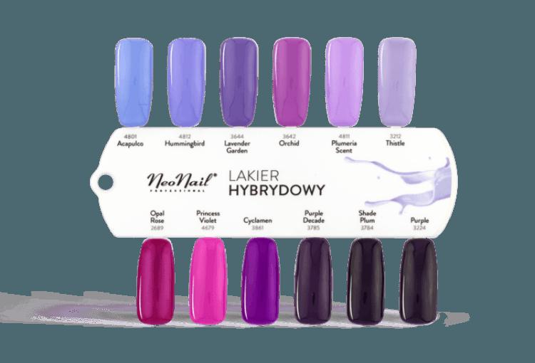 Lakier Hybrydowy UV  15 ml - Purple