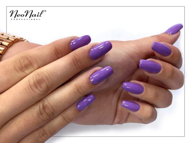 stylizacja lakierem hybrydowym Lavender Garden