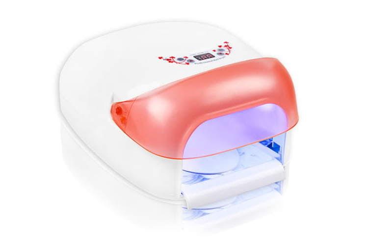 Zestaw Manicure hybrydowy mały z lampą