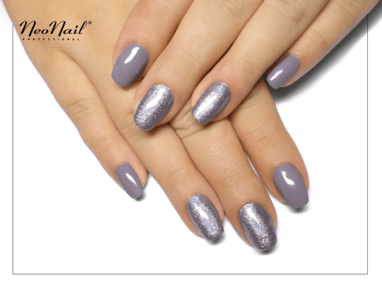 Lakier  Hybrydowy UV 6 ml - Silver Grey