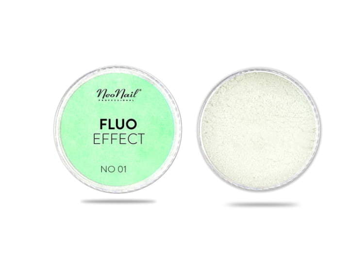 Puder Fluo Effect 01 do manicure