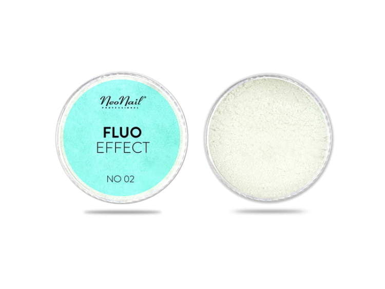Puder Fluo Effect 02 do manicure