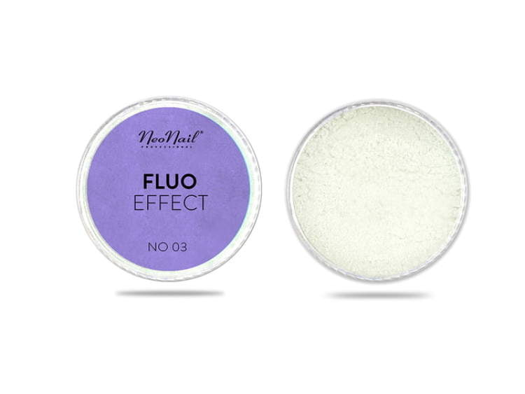 Puder Fluo Effect 03 do manicure