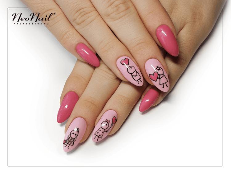 stylizacja lakierem hybrydowym Pink Panther