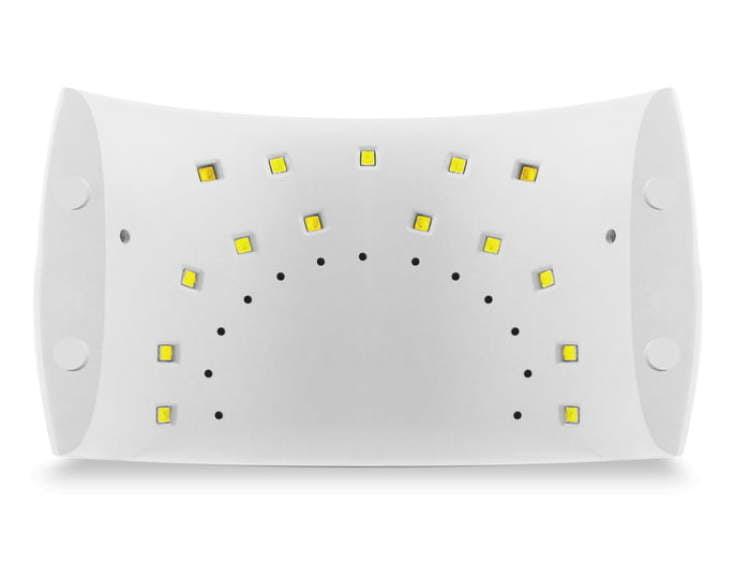 Lampa LED 24W panel dolny wizualizacja