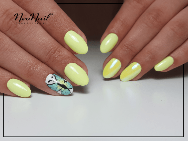 Lakier Hybrydowy  UV 15 ml - Yellow Bahama