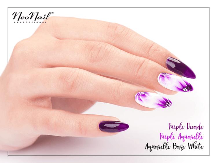 Lakier Hybrydowy 6 ml - Purple Aquarelle