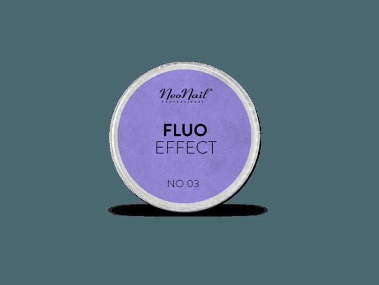 Puder Fluo Effect 03 do stylizacji paznokci