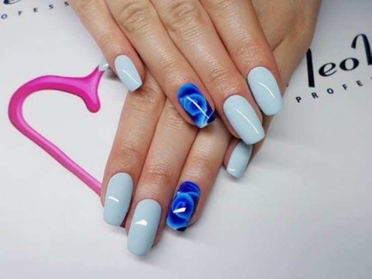 Lakier Hybrydowy  UV 6 ml - Blue Tide