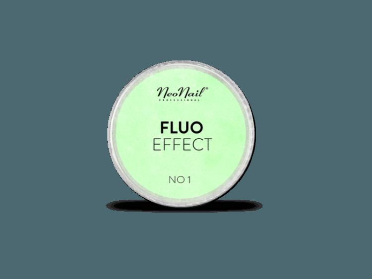 Świecący w ciemności pyłek fluo effect do stylizacji paznokci