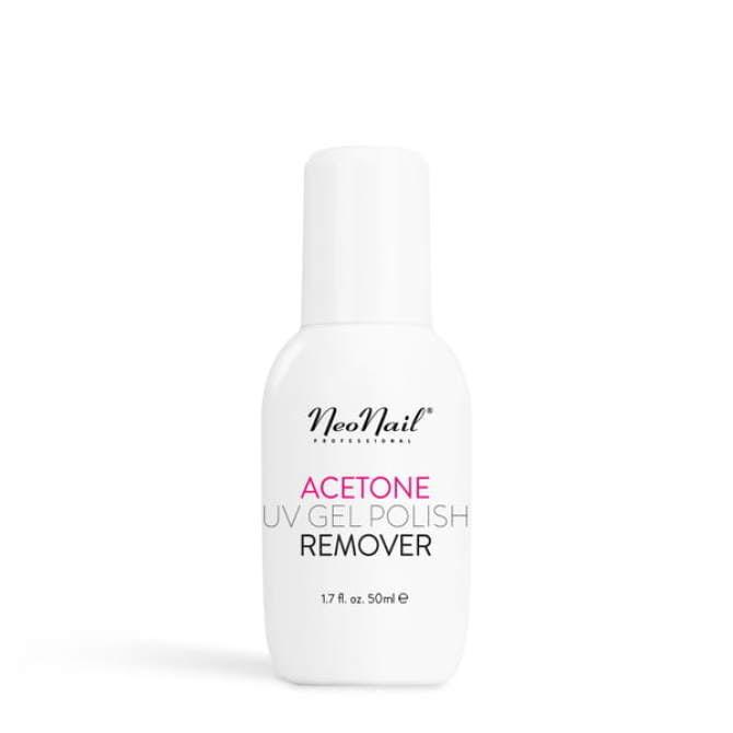 Acetone UV Gel Polish Remover - Aceton 50 ml  do usuwania manicure hybrydowego