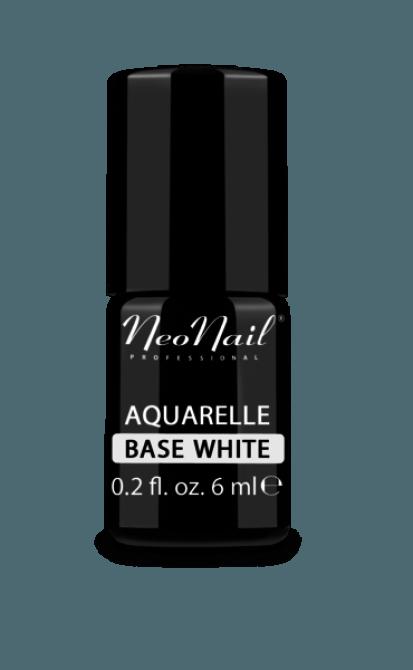 lakier hybrydowy do stylizacji paznokci Aqaurelle Base White