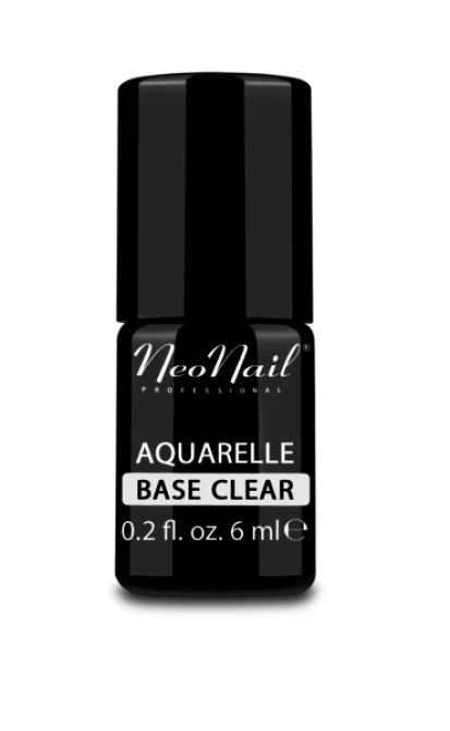 Przezroczysta baza Aquarelle do stylizacji paznokci