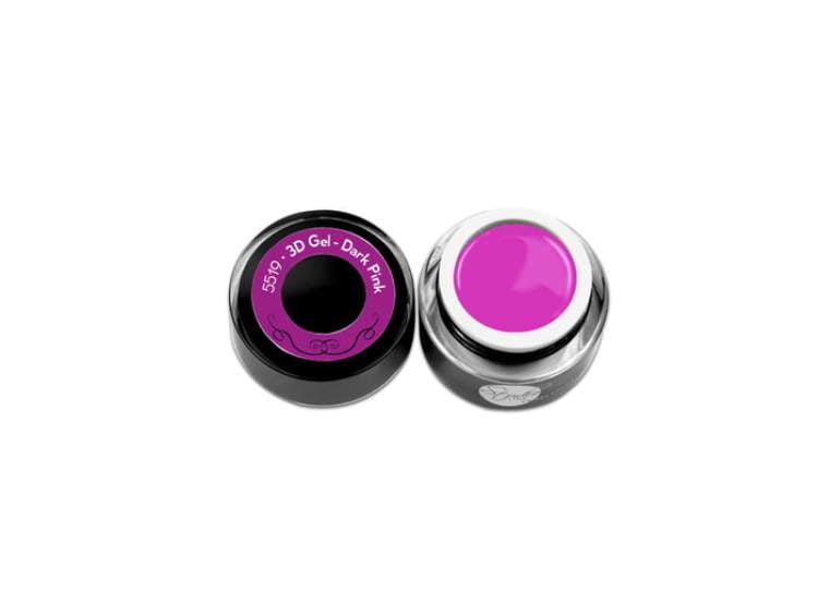 Plastelina do zdobień 3D Gel - Dark Pink Studio Line 5ml