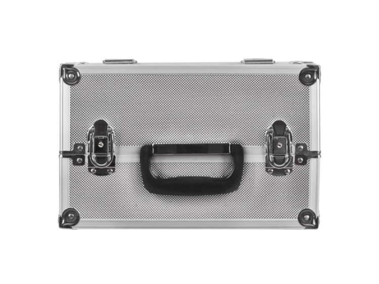Kuferek kosmetyczny mały  L srebrny
