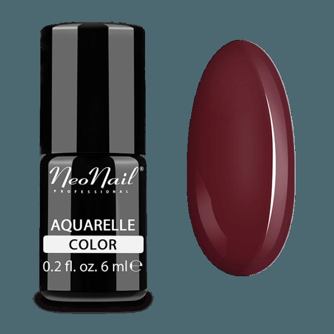 Lakier hybrydowy Aquarelle w brązowym odcieniu.