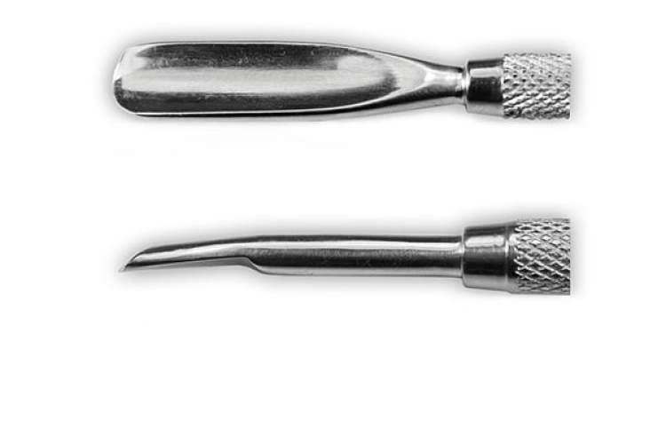 Końcówki Pushera - kopytka metalowego 1867T - 06 do manicure