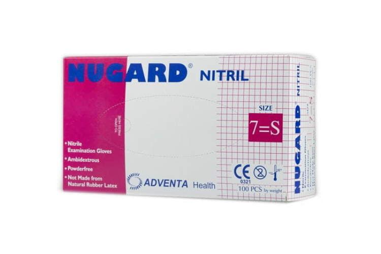 Rękawiczki nitrylowe - niebieskie, rozmiar S wysoka jakość
