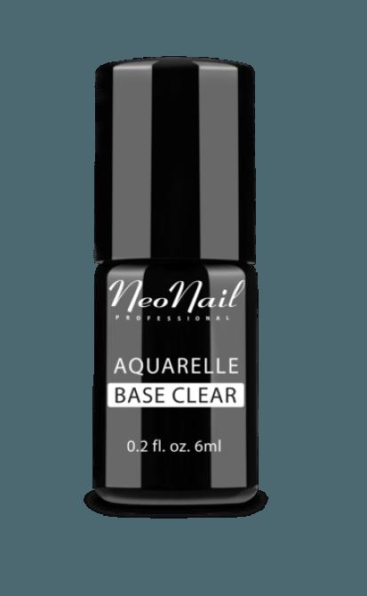 Lakier Hybrydowy Aquarelle Base Clear do stylizacji paznokci 5486-1