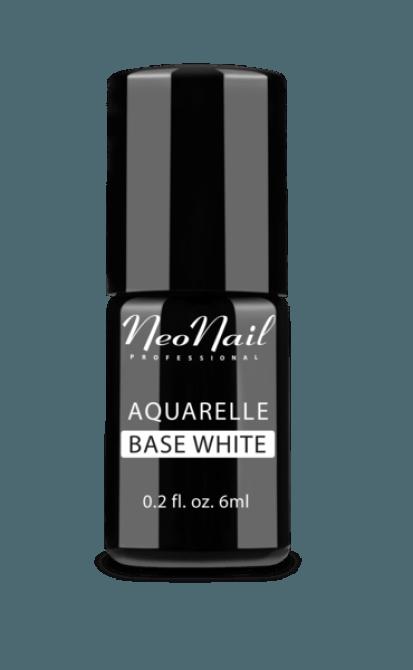 Lakier Hybrydowy Aquarelle Base White do stylizacji paznokci 5485-1
