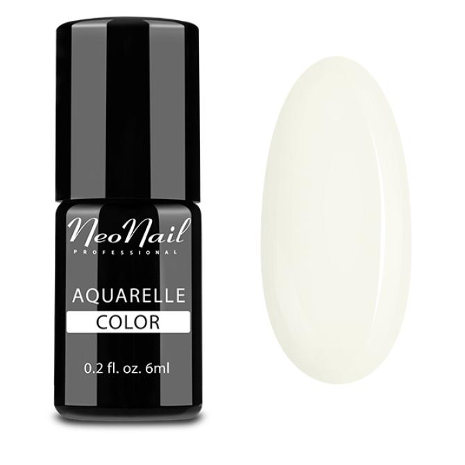 lakier hybrydowy do stylizacji paznokci na mokro Aquarelle White