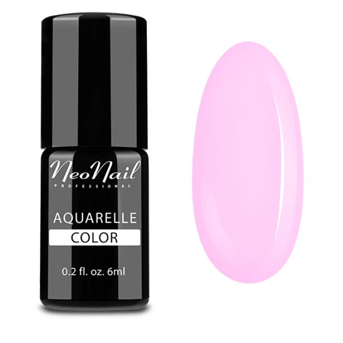 lakier hybrydowy do stylizacji paznokci na mokro Aquarelle Pink