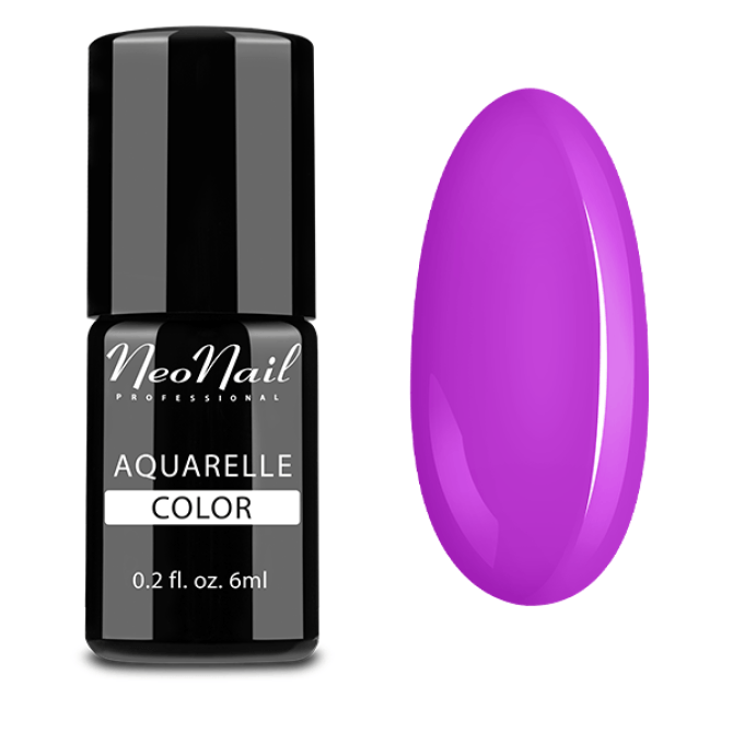 lakier hybrydowy do stylizacji paznokci na mokro Lavender Aquarelle