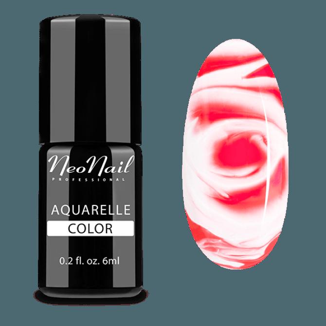 lakier hybrydowy do stylizacji paznokci na mokro Ruby Aquarelle