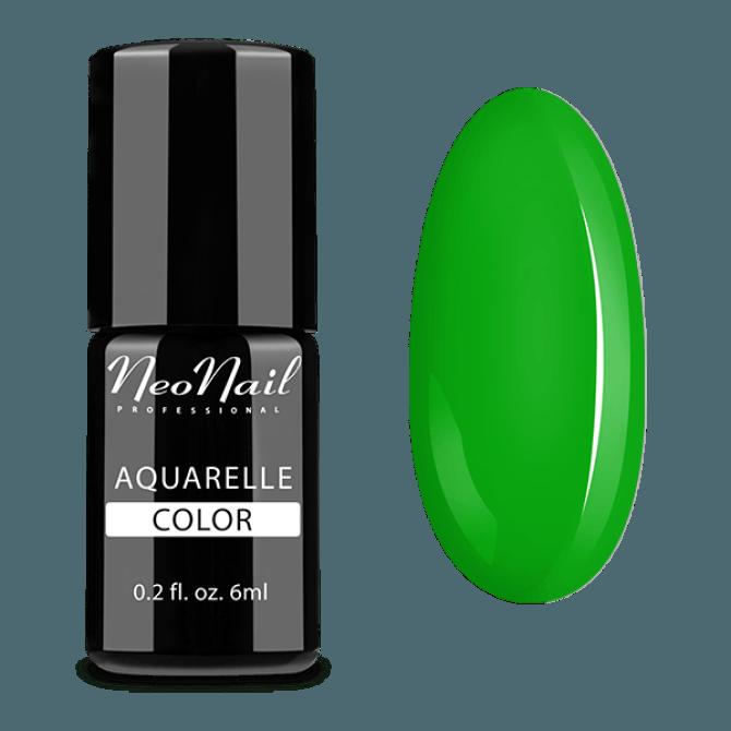 Lakier hybrydowy do stylizacji paznokci w zielonym odcieniu