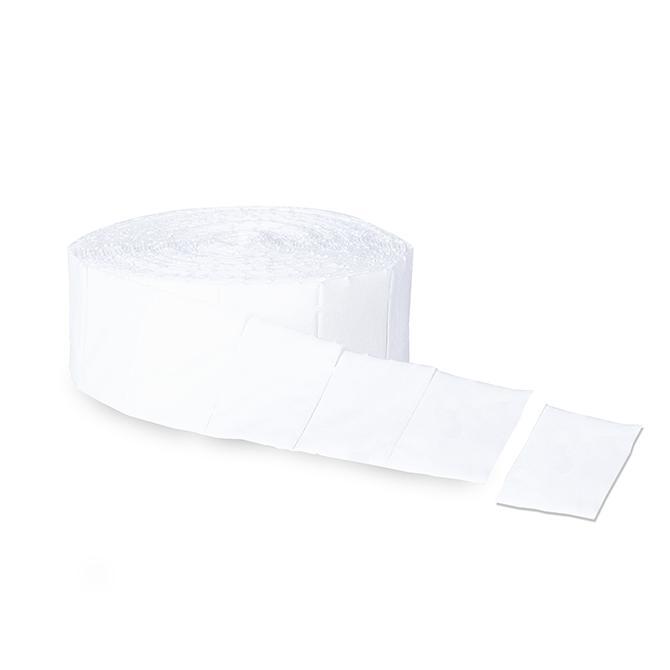 tampon bezpyłowy z waty celulozowej