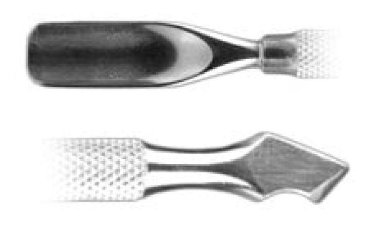 Pusher - kopytko metalowe