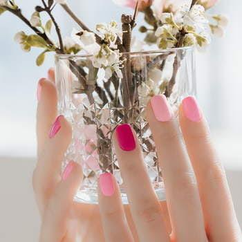 Zestaw lakierów hybrydowych Cherry Blossom: 5 kolorów x 3ml