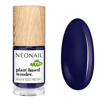 Wegański lakier klasyczny PLANT-BASED WONDER 7,2 ml - PURE NIGHT