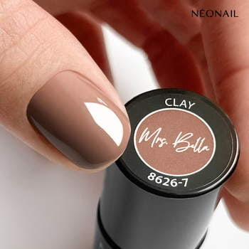 Lakier hybrydowy 7,2 ml - Clay - NEONAIL x Mrs Bella