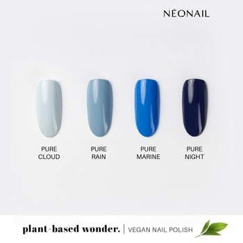 Wegański lakier klasyczny PLANT-BASED WONDER 7,2 ml - PURE RAIN