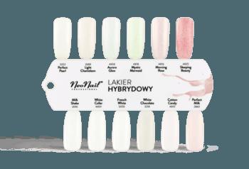 Lakier Hybrydowy 7,2 ml- Milk Shake do stylizacji paznokci
