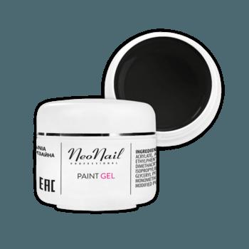 Paint UV/LED Gel 5 ml - Black Pearl