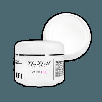 Paint UV/LED Gel 5 ml - White Rose