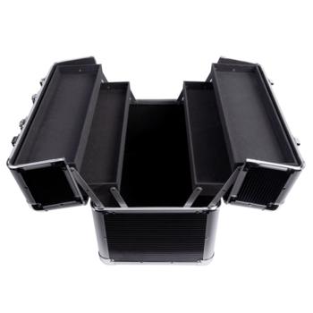 Kuferek kosmetyczny duży XXL czarny