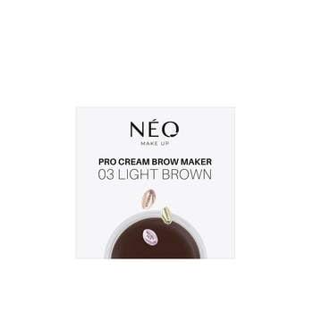 03 Light brown Pomada do brwi Pro Cream Brow Maker