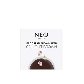 03 Pomada do brwi Pro Cream Brow Maker Light brown
