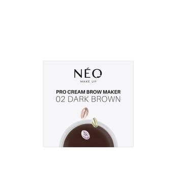 02 Pomada do brwi Pro Cream Brow Maker Dark brown