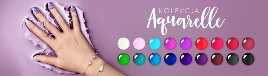 Hybrydowe lakiery Aquarelle