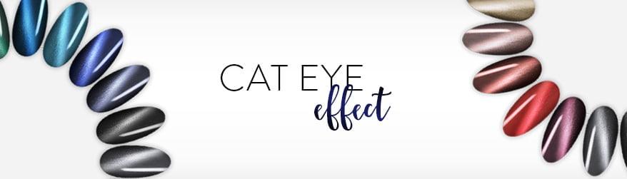 Lakiery hybrydowe Cat Eye