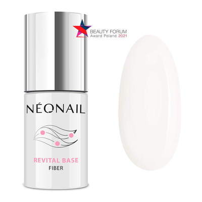 UV Gel Polish 7,2 ml - Revital Base Fiber Milky Cloud